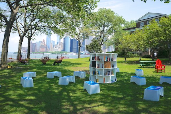 Uni on Governors Island, NYC Summer 2013.