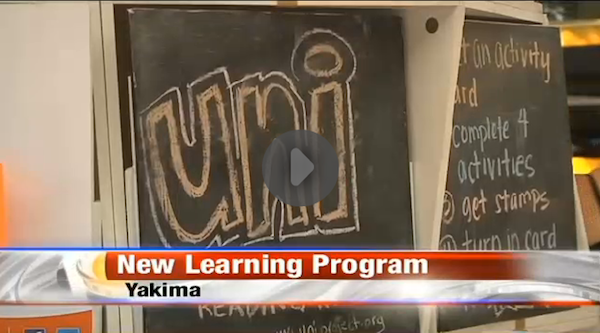 Watch local NBC news coverage of Foundation for Early Learning using a Uni tower in Washington State