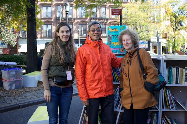 Hailing from Berkeley CA, Bernard Lo and Laurie Dornbrand stay connected with NYC by supporting the Uni and sending carefully chosen books, favorites that we put in the hands of NYC kids.