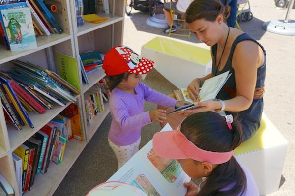 Uni reading room, Corona, Queens, June 28, 2014.