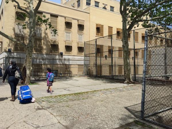 Uni at James Weldon Johnson Playground, East Harlem