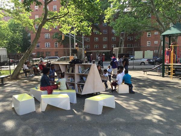 Uni at James Weldon Johnson Playground, East