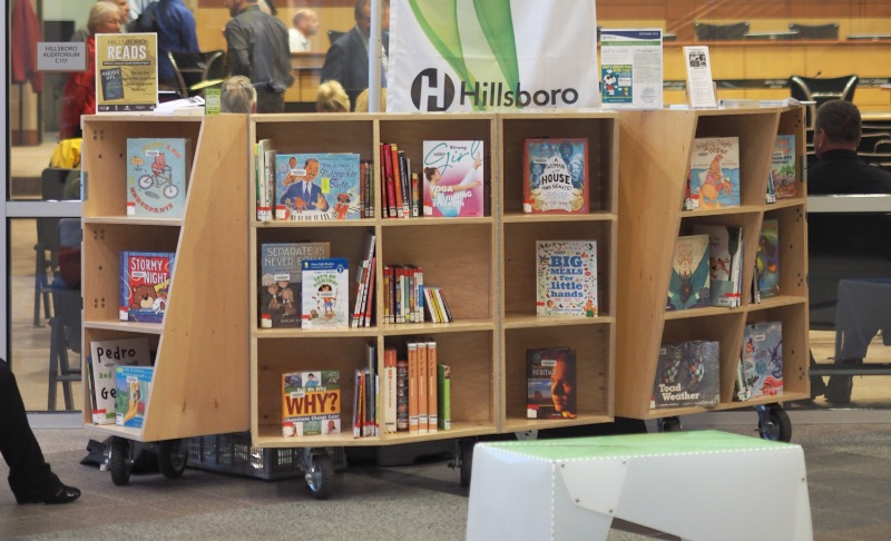 A portable reading room for Hillsboro Public Library