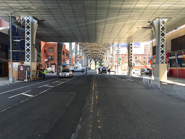 Uni under the Viaduct