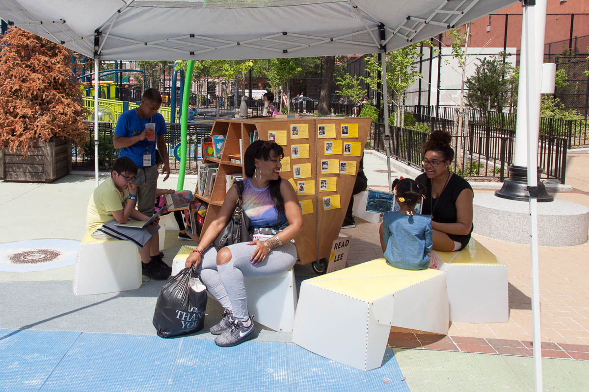 Uni begins residency in White Park, East Harlem