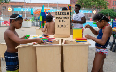 Uni Project brings BUILD NYC to Harlem's Sheltering Arms Pool