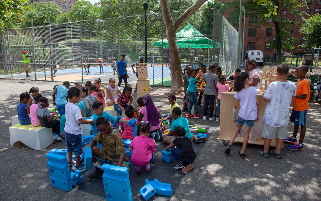 Making a place for learning at NYC summer play streets