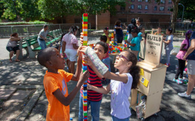 BUILD NYC pops up at Bronx play street at NYCHA Butler Houses