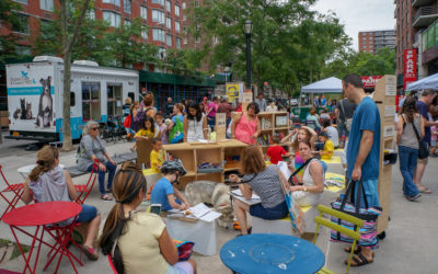 READ and DRAW come out in support of a One Day Plaza