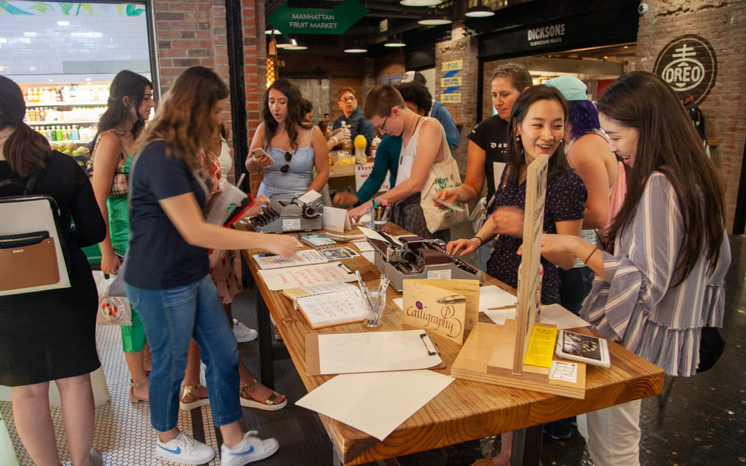 WRITE together in Chelsea Market